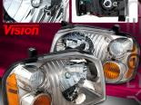 Передняя оптика для Nissan Frontier 98-04