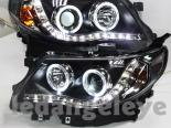 Передняя оптика для Subaru Forester 09-12 Angel Eyes Projector Black