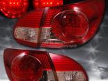 Задние фонари на Toyota Corolla 03-08 Красный