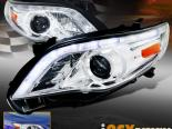 Передние фары для Toyota Corolla 09-12 Projector R8 Style Chrome