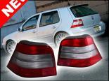 Задняя оптика для  Volkswagen Golf IV 99-05 Красный CLEAR
