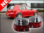 Задняя оптика на Volkswagen Golf IV 99-05 RGR-Стиль Красный CLEAR