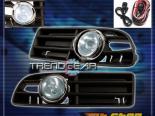 Противотуманная оптика на Volkswagen Jetta IV 99-04 Синий