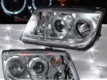 Передние фары для Volkswagen Jetta IV 99-04 HALO PROJECTOR
