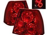 Задняя оптика для Volkswagen Jetta IV 99-04 Красный