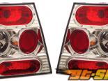 Задняя оптика на Volkswagen Jetta IV 99-04 Хром