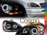 Передняя оптика для Mercedes M Class W163 HALO PROJECTOR BLACK