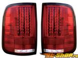 Задняя оптика для Ford F-150 05-08 Красный