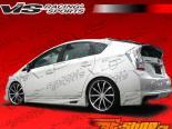 Обвес по кругу на Toyota Prius 2010-2011 K Speed
