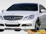 2010-2011 Mercedes E Class C207 2 двери CR-S Передняя губа (will fit Sport or AMG bumpers only)