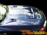 Решётка в передний бампер для Pontiac Vibe 05-06 Billet