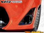 Карбоновые вставки в бампер Subaru BRZ