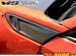 Карбоновые вставки в крылья Subaru BRZ тип 2