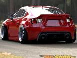 Greddy Rocket Bunny 86 Aero Version 2 Duck задняя Wing Subaru BRZ 13-15