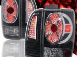 Задние фонари для LINCOLN NAVIGATOR 98-02 Чёрный хром
