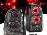 Задняя оптика для Chevrolet Trail Blazer 02-08 Тёмный