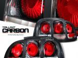 Задние фонари на Ford Mustang 94-98 ALTEZZA Карбон