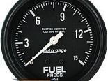 "AutoMeter 2-5/8"" давления топлива, 0-15 Psi [ATM-2311]"