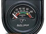 "AutoMeter 1-1/2"" давления масла, 0-100 Psi [ATM-2354]"