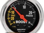 """AutoMeter 2"""" Boost, 30 In. Hg-Vac/30 Psi [ATM-2403]"""