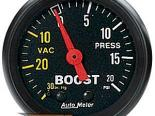 """AutoMeter 2"""" Boost, 30 In. Hg-Vac/ 20 Psi [ATM-2601]"""