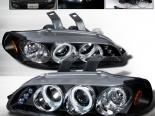 Передняя оптика для Honda Civic 92-95 Halo Projector Black : Spec-D