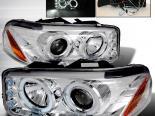 Передняя оптика для GMC DENALI 00-06 Halo Projector Хром : Spec-D