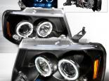 Передняя оптика для Ford F150 04-08 Halo Projector Black : Spec-D