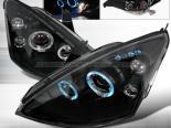 Передняя оптика на FORD FOCUS 00-04 Halo Projector Black : Spec-D