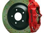 AP Тормозная система передний  Красный 03-06 350z / G35 4-поршневые 1pc 13