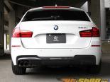 3D Design Карбоновый задний диффузор Dual Tip BMW 5 Series F10 | F11 M Sport 11-15