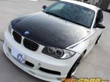 3D Design Карбоновый Bonnet With Aerocatch Latches BMW 1 Series E82 05-14