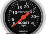 """AutoMeter 2"""" Boost-Vac, 2.5 Kg/Cm2 [ATM-3304-J]"""