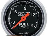 "AutoMeter 2"" давления топлива, 0-15 Psi, [ATM-3311]"