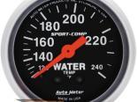 "AutoMeter 2"" температуры жидкости, 120-240`F [ATM-3333]"