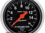 "Autometer Sport Comp 2 1/16"" Electric 0-1600 Degree EGT Датчик"