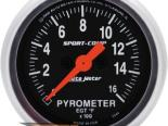 "AutoMeter 2"" E.G.T. комплект, 0-1600`F [ATM-3344]"