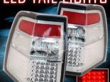 Задние фары для Ford Expedition 07-10 Хром Clear