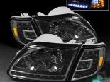 Передние фары на FORD F150 97-03 R8 BLACK