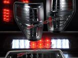 Задние фары для FORD F150 09-11 XLT STX Тёмный + 3ий стоп