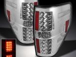 Задние фонари на FORD F150 2009-2011 Хром