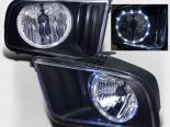 Передние фары для Ford Mustang 2005-2009 Чёрный