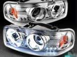 Передние фонари для GMC YUKON CCFL HALO PROJECTOR EURO Хром