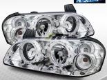 Передние фонари для Nissan Maxima 02-03 Angel Eye Halo Projector