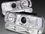 Передние фонари для Chevrolet Tahoe PROJECTOR CHROME