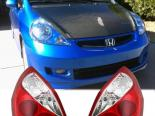 Задние фары на Honda Fit 03-08 EURO R Style Red & Clear