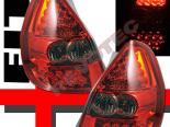 Задняя оптика на HONDA FIT 06-08 SMOKE RED