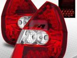 Задние фары для Honda Fit 06-08 Red Clear