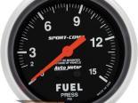 "AutoMeter 2-5/8"" давления топлива, 0-15 [ATM-3411]"