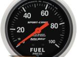 "AutoMeter 2-5/8"" давления топлива, 0-7 [ATM-3412-J]"
